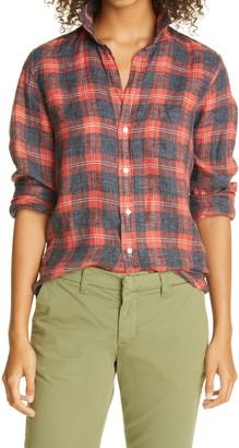 Frank And Eileen Barry California Linen Flannel Button-Up Shirt