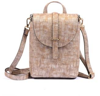 Hiva Atelier Liber Straw Leather Bag Beige