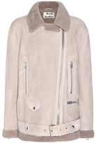Acne Studios More Shearling-lined Suede Jacket