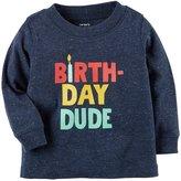 Carter's Baby Boys' Birthday Dude Tee
