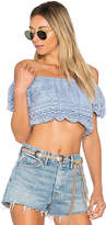 Ale By Alessandra x REVOLVE Fabiana Top in Blue. - size L (also in M,S)
