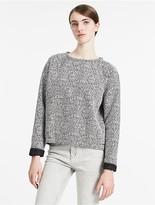 Calvin Klein Jeans Heathered Boxy Sweatshirt