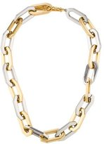 Rachel Zoe Bicolor Oval Link Necklace
