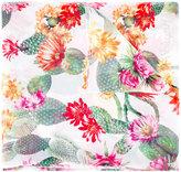 Blugirl floral print scarf