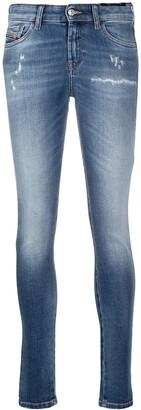 Diesel Slandy 009PU skinny jeans