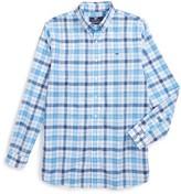 Vineyard Vines Boy's Camanoe Beach Plaid Shirt