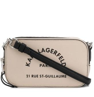 Karl Lagerfeld Paris Rue St Guillaume crossbody bag