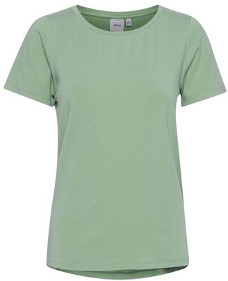 Ichi Vicenta Green T Shirt - X Large