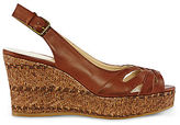 JCPenney Nine & Co 9 & Co. Noland Slingback Wedge Sandals
