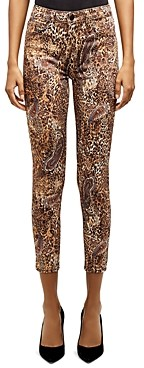 L'Agence Margot High-Rise Skinny Jeans in Bronze Valencia