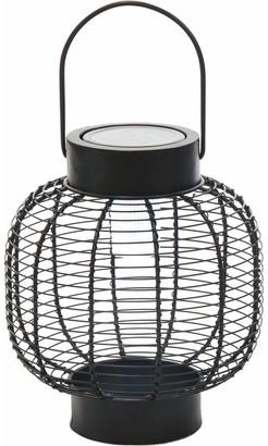 Transpac Small Metal Solar Lantern