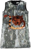 Au Jour Le Jour Cat Sequin Milano Jersey Dress