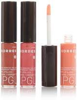 Korres Cherry Oil Lip Gloss Trio - Light Pink, Rose and Nude