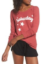 Chaser Women's Love Saturday Drape Back Pullover