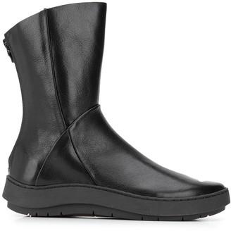 Trippen Shovel zip-up ankle boots