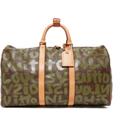 What Goes Around Comes Around Louis Vuitton Sprouse Keepall Bag (Previously Owned)