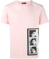 Raf Simons triptych print T-shirt