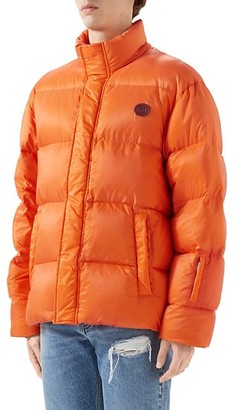 Gucci Think/Thank Print Nylon Down Jacket