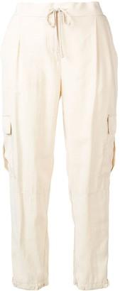 Lorena Antoniazzi Drawstring Cropped Trousers