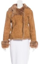 Joseph Shearling Double-Breasted Jacket