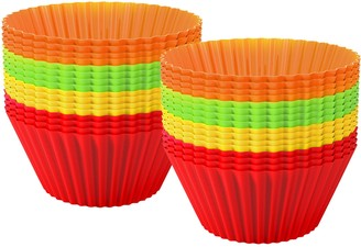 Chef Buddy 48-Piece Silicone Baking Cupcake Liners