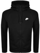 Nike Tribute Varsity Zip Hoodie Black