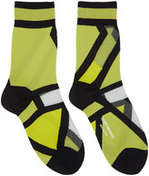 Issey Miyake Yellow Ray Socks