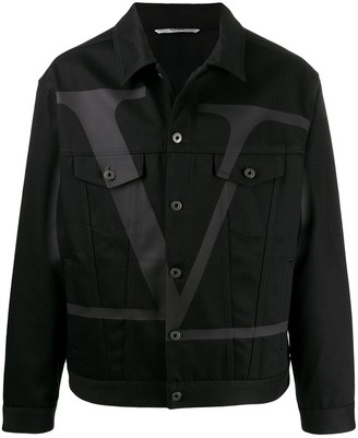 Valentino Oversized VLOGO denim jacket