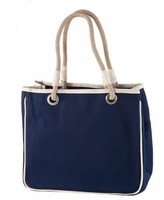 The Well Appointed House Rope Tote in Navy-Can Be Personalized