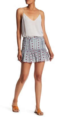 Raga Daria Embroidered Mini Skirt
