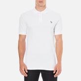 Paul Smith Men's Regular Fit Zebra Polo Shirt White