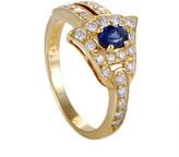 Heritage Graff Diamonds Graff Diamonds 18K 1.08 Ct. Tw. Diamond & Sapphire Ring