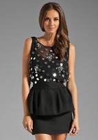 Milly Confetti Paillettes Madison Top