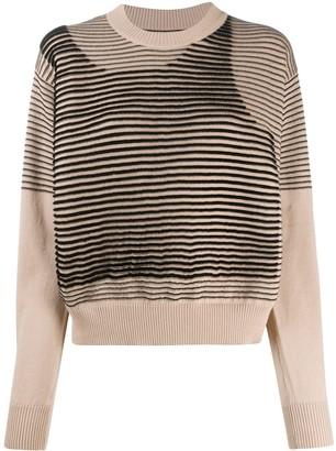 MM6 MAISON MARGIELA Asymmetric Knitted Jumper