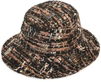 Dolce & Gabbana Boucle Bucket Hat