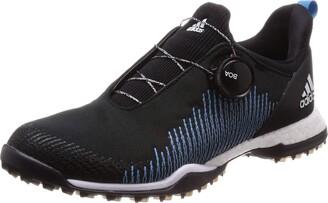 adidas W Forgefiber Boa Women's Golf Shoes Black (Negro/Azul Bb7853) 8 UK (42 EU)