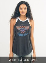 Junk Food Clothing Wonder Woman Raglan Tank-jb/ew-l