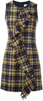 MSGM front ruffle sleeveless dress - women - Polyamide/Polyester/Wool - 42