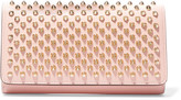 Christian Louboutin Macaron Spiked Leather Wallet - Pastel pink