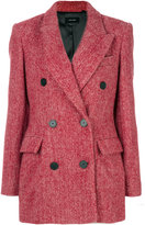Isabel Marant Eley coat - women - Cotton/Viscose/Alpaca/Virgin Wool - 36