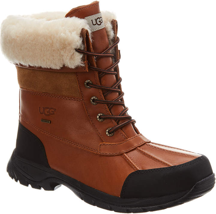 UGG Butte Waterproof Leather & Suede Boot