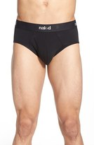 Naked Men's Essential 2-Pack Stretch Cotton Briefs