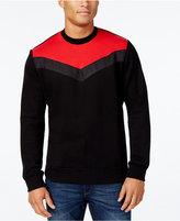 Sean John Men's Big & Tall Chevron Stripe Shirt