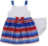 Bonnie Jean Sleeveless American Dress - Baby Girls newborn-24m