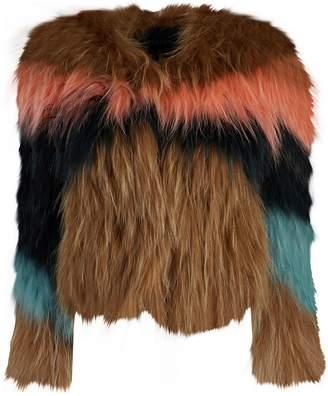 Jocelyn Multicolour Fox Jackets