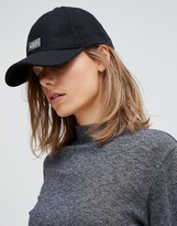 Cheap Monday Baseball Cap With Metal Logo Detail
