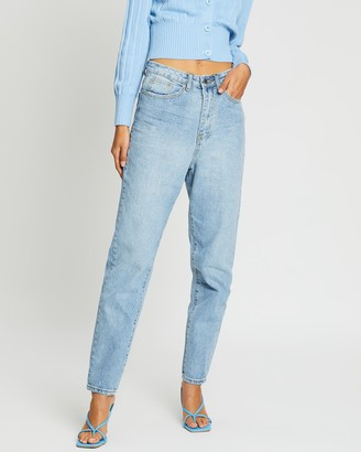 Missguided Riot High-Rise Mum Jeans
