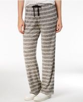 Hippie Rose Juniors' Striped Heathered Soft Pants