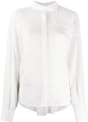 Lala Berlin Kufiya embroidered blouse