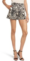 Leith Women's High Waist Jacquard Shorts